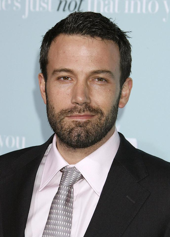"""<a href=""""http://movies.yahoo.com/movie/contributor/1800018969"""">Ben Affleck</a> at the Los Angeles premiere of <a href=""""http://movies.yahoo.com/movie/1809932969/info"""">He's Just Not That Into You</a> - 02/02/2009"""