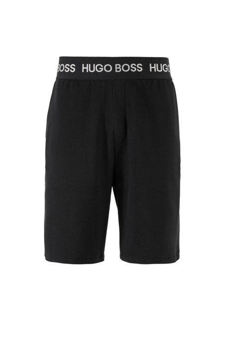 "<p><strong>Hugo Boss</strong></p><p>hugoboss.com</p><p><a href=""https://go.redirectingat.com?id=74968X1596630&url=https%3A%2F%2Fwww.hugoboss.com%2Fus%2Floungewear-shorts-in-cotton-pique-with-logo-waistband%2Fhbna50424823_033.html&sref=https%3A%2F%2Fwww.esquire.com%2Fstyle%2Fmens-fashion%2Fg33483179%2Fhugo-boss-summer-sale%2F"" target=""_blank"">Buy</a></p><p><strong>$<del>98.00</del> $68.00</strong></p><p>The summer-ready version of your favorite sweatpants.  </p>"