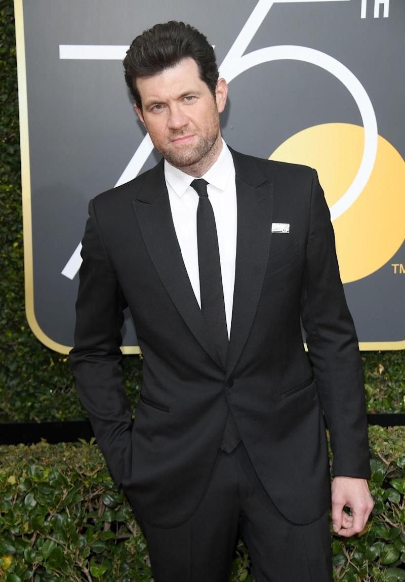 Comedian Billy Eichner got in a sharp dig at Kevin Spacey. Source: Getty