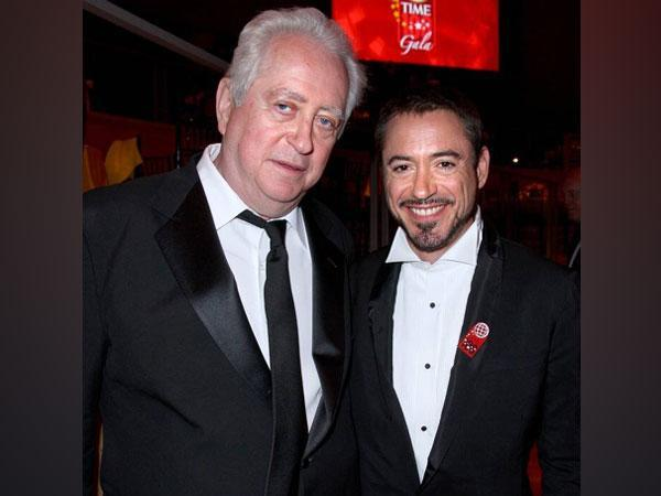 Robert Downey Jr with his late father Robert Downey Sr (Image source: Instagram)