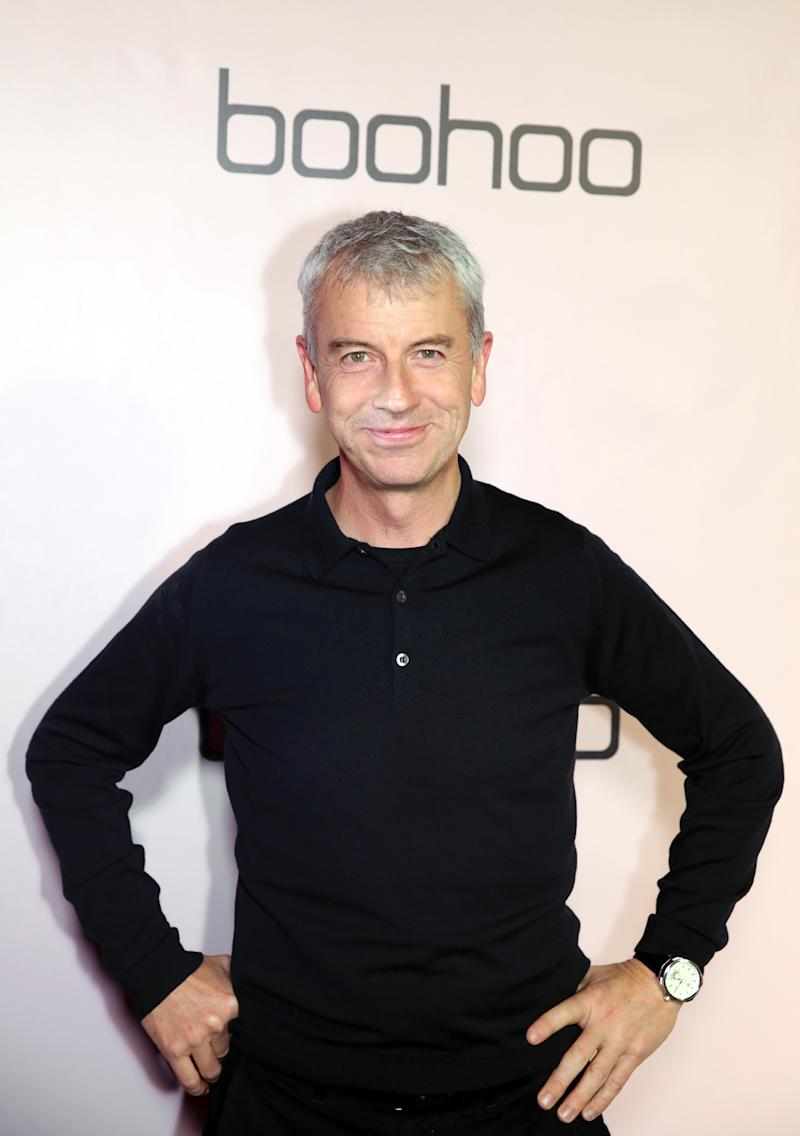 LOS ANGELES, CALIFORNIA - NOVEMBER 07: Boohoo CEO John Lyttle attends boohoo x All That Glitters Launch Party on November 07, 2019 in Los Angeles, California. (Photo by Dana Pleasant/Getty Images for boohoo.com)