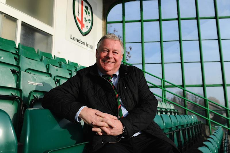 Exiles offer: London Irish president and majority shareholder Mick Crossan is under pressure to deliver an answer over selling up: Getty Images