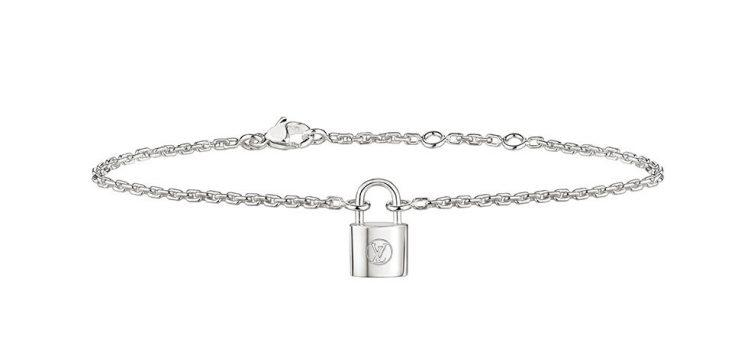 Louis Vuitton Silver Lockit Bracelet
