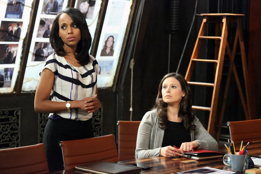 """Molly, You in Danger, Girl"" - When details from an old case don't add up, Olivia's team must backtrack to figure out if they made a mistake. Worse still, this mistake has potentially put them all in serious danger. Meanwhile, Olivia and Jake's relationship starts to heat up, while at the White House Fitz and Mellie's relationship hits a new low, on ABC's ""Scandal."""