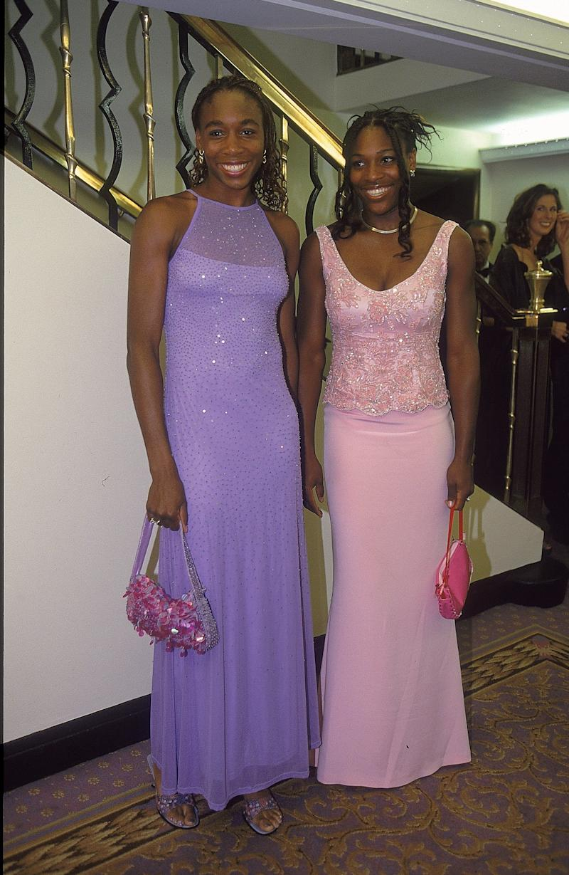 At the Champions Ball after the Wimbledon Lawn Tennis Championshipon July 9, 2000.