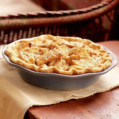 """<p>This Caramel-Apple Crumb Pie is a variation on the classic <a href=""""https://www.myrecipes.com/t/pies/apple-pie/"""" rel=""""nofollow noopener"""" target=""""_blank"""" data-ylk=""""slk:apple pie"""" class=""""link rapid-noclick-resp"""">apple pie</a>; it has a rich caramel syrup drizzled over the apples and is topped with a crunchy streusel. </p><p><a href=""""https://www.myrecipes.com/recipe/caramel-apple-crumb-pie"""" rel=""""nofollow noopener"""" target=""""_blank"""" data-ylk=""""slk:Caramel-Apple Crumb Pie Recipe"""" class=""""link rapid-noclick-resp"""">Caramel-Apple Crumb Pie Recipe</a></p>"""