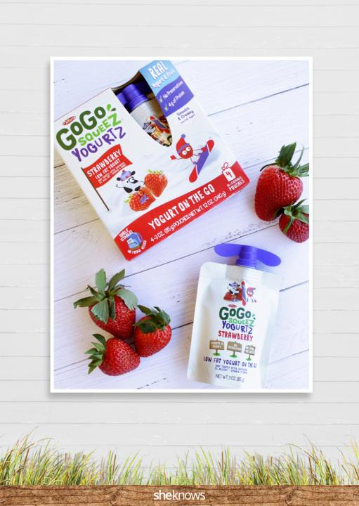 Made with real yogurt, fruit and packed with protein, GoGo squeeZ YogurtZis cool because it doesnt have to be cold!