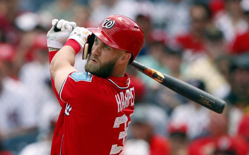 Beer prices at Nationals Park in Washington are so high they might be able to pay off Bryce Harper's potentially historic free-agent contract.