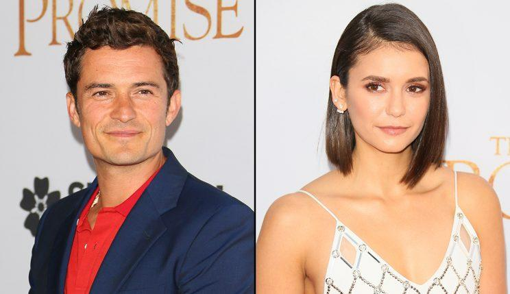 Orlando Bloom and Nina Dobrev are dating. (Photo: JB Lacroix/WireImage)