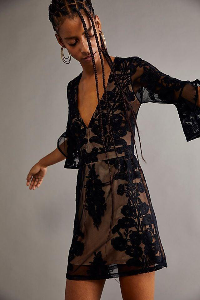 """<h2>Fall Wedding-Guest Mini Dresses</h2><br>If you wanna show off your gams but still wanna be covered up, there are plenty of long-sleeve mini dresses calling your name.<br><br><strong>For Love And Lemons</strong> Temecula Mini Dress, $, available at <a href=""""https://go.skimresources.com/?id=30283X879131&url=https%3A%2F%2Fwww.freepeople.com%2Fshop%2Ftemecula-mini-dress2%2F%3Fcolor%3D001%26type%3DREGULAR%26quantity%3D1"""" rel=""""nofollow noopener"""" target=""""_blank"""" data-ylk=""""slk:Free People"""" class=""""link rapid-noclick-resp"""">Free People</a>"""