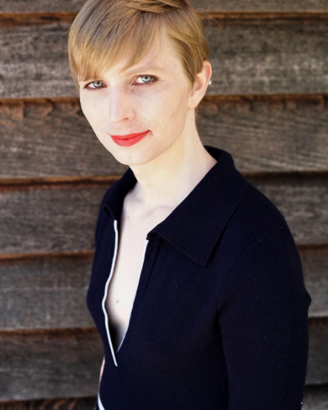 Chelsea Manning in a photo she posted to Instagram on Thursday. (Photo: Instagram/xychelsea87)