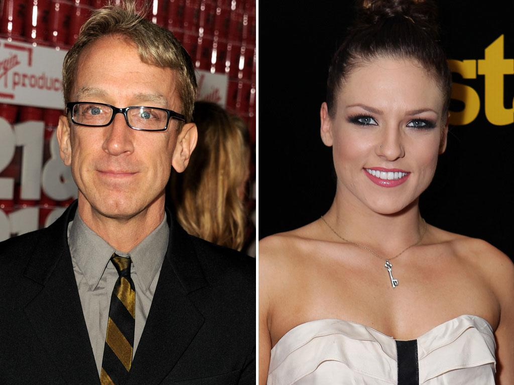 "Andy Dick  Comedian Andy Dick is bringing his quips and humor to the dance floor this season.  Pro Partner: Sharna Burgess. Dick is paired with pro dancer Sharna Burgess, who makes her ""DWTS"" debut."