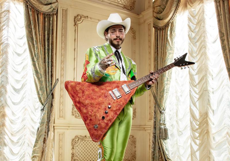Post Malone as 'Post Limón.' (Photo: Doritos)