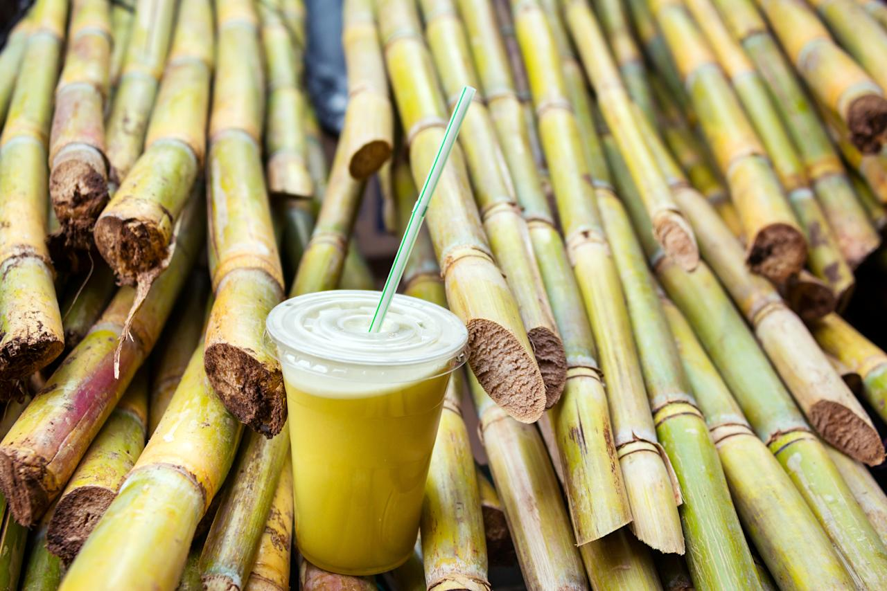 <p>This is the perfect drink to beat the summertime heat. It also serves as an energy drink. A glass of cold sugarcane juice can help rebuild the depleting energy levels in your body. It is rich in antioxidants, acts as a diuretic and helps keep your liver strong. </p>