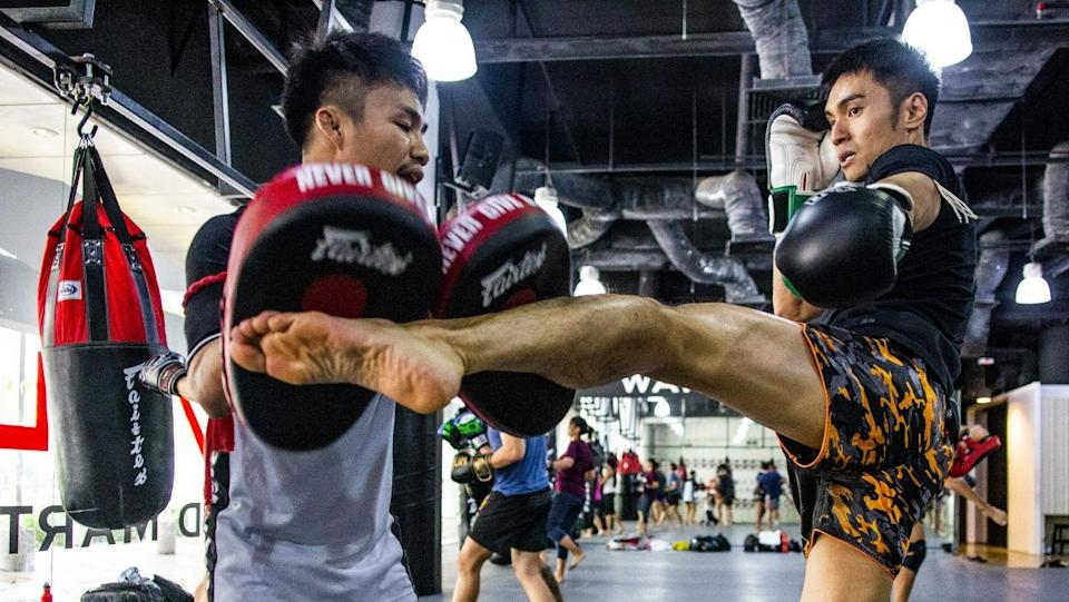 With Muay Thai, the harder you work in the gym, the better you will look come fight night. (PHOTO: Evolve MMA)