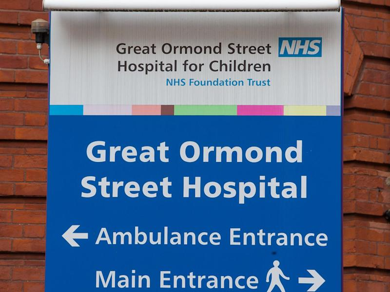 Ten babies with head injuries suspected to be caused by abuse were treated at Great Ormond Street Hospital, London, in the first month of lockdown: Rex Features