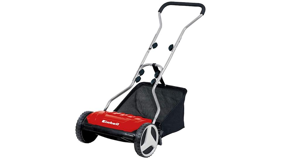 A simple design and added maneuverability make this push lawn mower a solid buy for first-time gardeners.