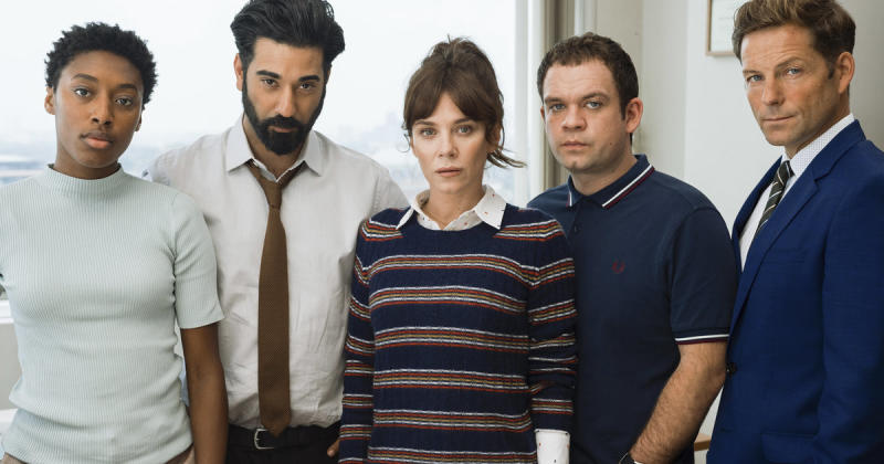 Anna Friel is back as disturbed detective Marcella Backland, as crime noir'Marcella' returns for a second series on Monday (19 February).