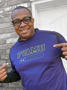 Chas Harris, of Sodexo schools, was a Prairie View A&M University student.