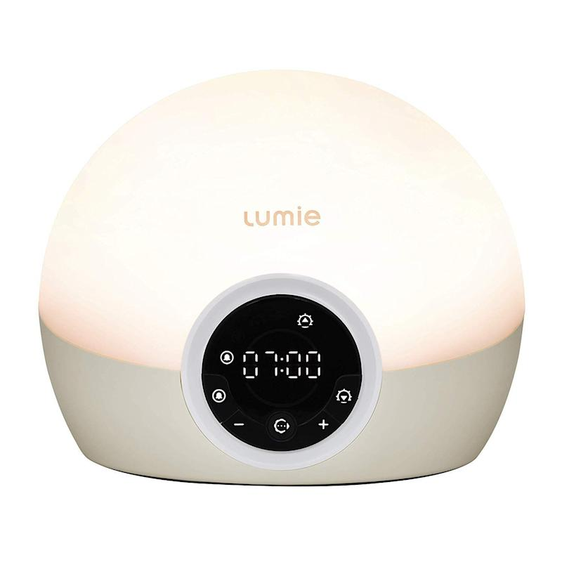 Lumie Bodyclock Spark 100 Wake up to Daylight SAD Light, Amazon (Photo: HuffPost UK)