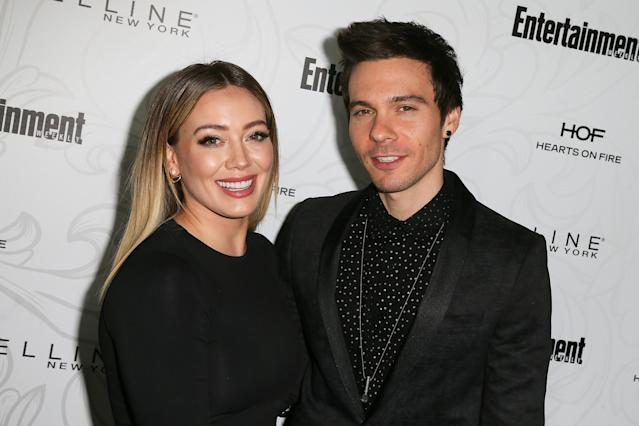 Hilary Duff  and Matthew Koma made their relationship red-carpet official on Jan. 28, 2017, but they were hot and cold after that. (Photo: David Livingston/Getty Images)