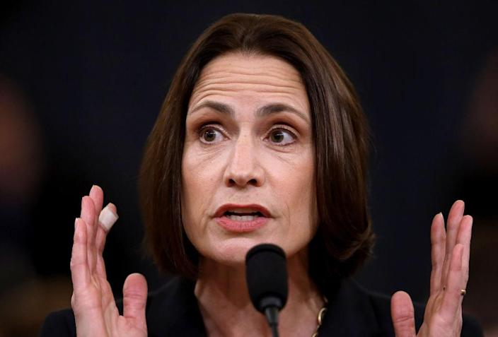 Fiona Hill. (Photo: Drew Angerer/Getty Images)
