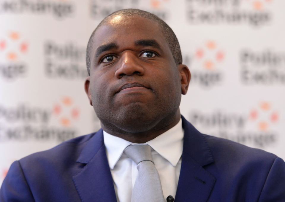 """Labour MP David Lammy said Vote Leave's behaviour made the referendum result """"look dodgier than ever"""" (Picture: PA)"""