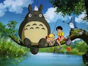 <p> <strong>The movie: </strong>Hayao Miyazaki's beautiful adventure My Neighbour Totoro follows schoolgirl Satsuke and her younger sister, Mei, as they move to an old country house with their father while their mother recovers from illness at a hospital some distance away. As the sisters explore their new home, they encounter playful spirits in their house and the nearby forest. One of those is the mysterious, silent and very, very cuddly giant creature Totoro. That's it, that's the film. And it's perfect that way. </p> <p> <strong>Why the family will love it: </strong>It doesn't matter if you're six, 15 or 50 years old. When you watch My Neighbour Totoro, you will become a six-year-old in your heart. No film captures the carefree spirit of childhood and the wonder and imagination of playing and running around quite like this one. And with Totoro himself and Neko the catbus joining the adventure, My Neighbour Totoro is simply one of the purest, most life-affirming pieces of cinema ever made. </p>