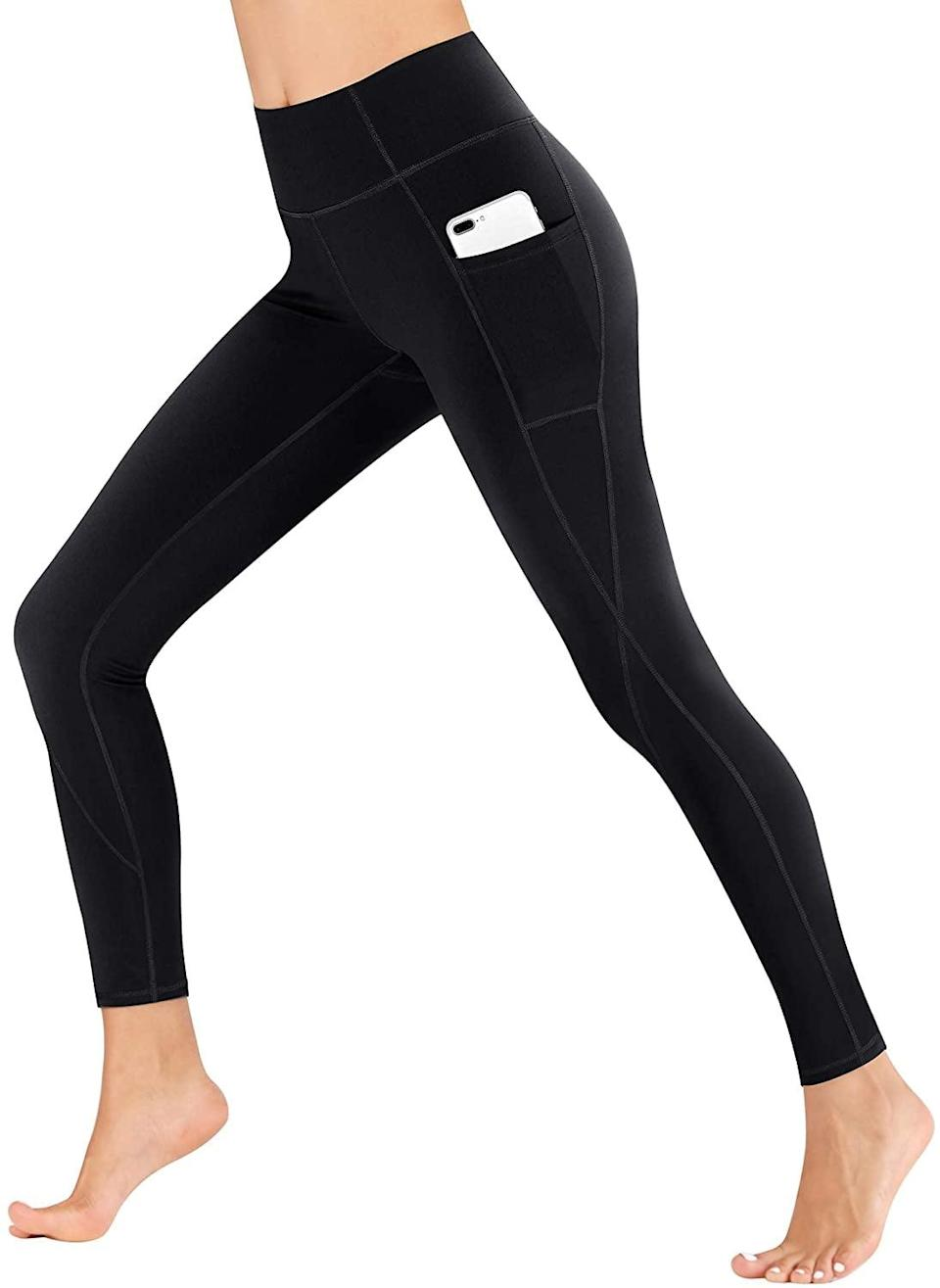 <p>From lifting weights to walking outdoors, the <span>Heathyoga High Waisted Leggings With Pockets</span> ($17, originally $30) will be your new favorite active leggings.</p>
