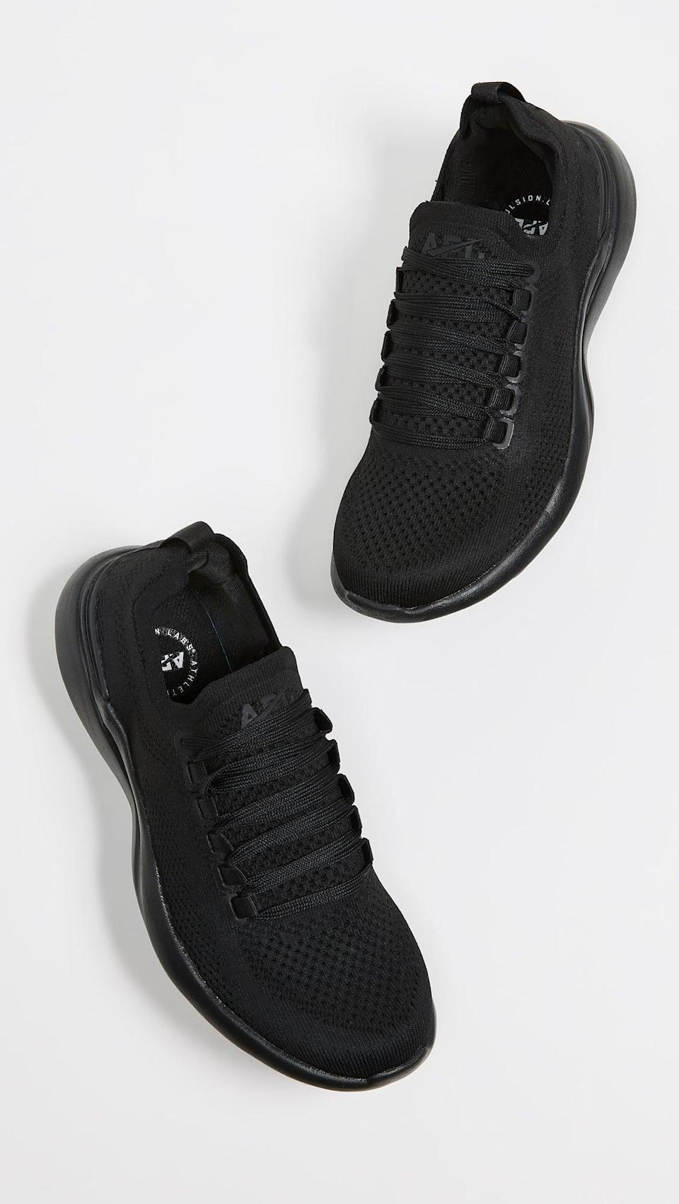 <p>These <span>APL TechLoom Breeze Sneakers</span> ($200) are almost impossibly lightweight, and great for sprinting.</p>