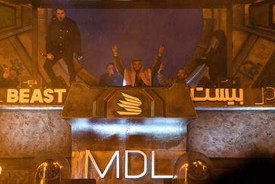 Sebastian Ingrosso and Salvatore Ganacci play a back to back set as they close the final day of MDL Beast, a three day festival in Riyadh, Saudi Arabia, bringing together the best in music, performing arts and culture. (PRNewsfoto/MDL Beast Festival)