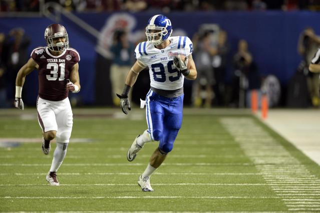 Duke TE Braxton Deaver to miss season with torn ACL