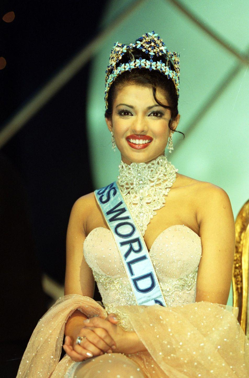 <p>Priyanka was crowned Miss India in 2000 and later that same year went on to win the prestigious Miss World title.</p>
