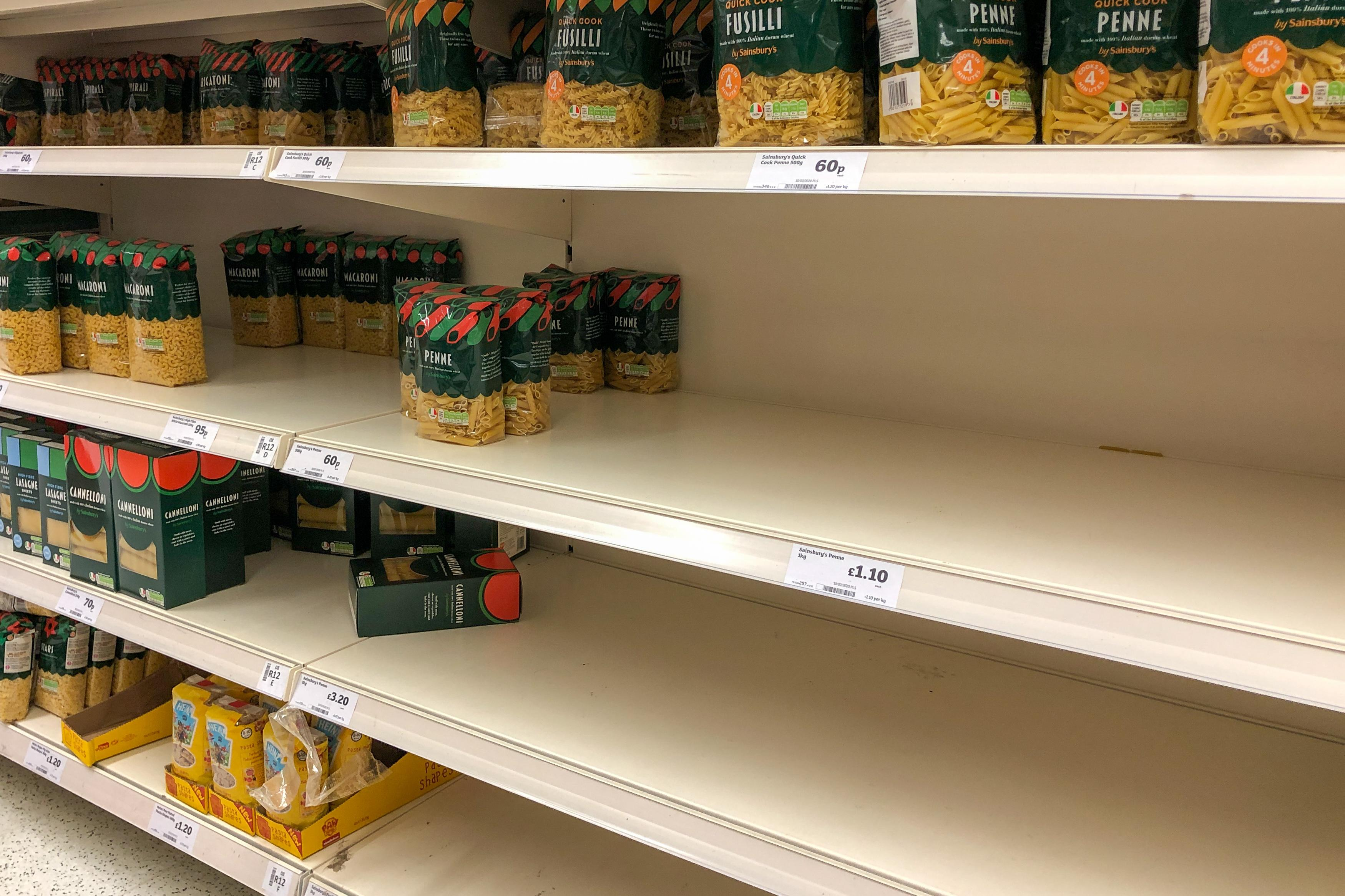 Image result for pasta shortage