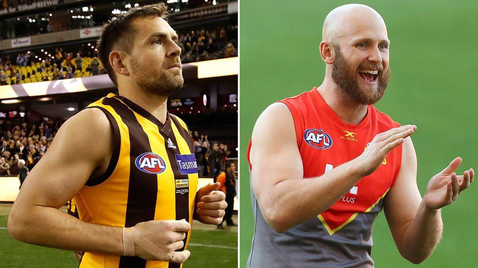 Hodge and Ablett are swapping states. Pic: Getty