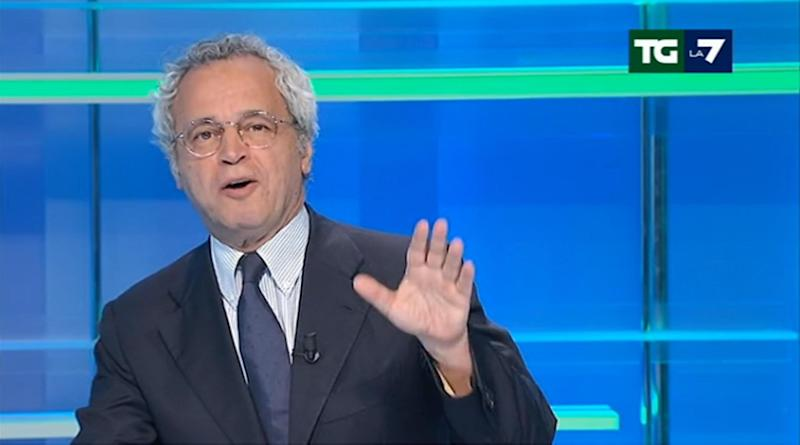 Enrico Mentana (Photo: ANSA)