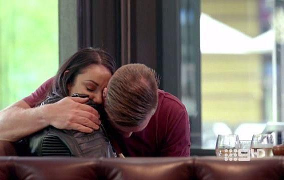 Remember the episode of Married At First Sight when Davina and Dean agreed to pursue a romance, behind their respectable TV partners' backs. Source: Channel Nine