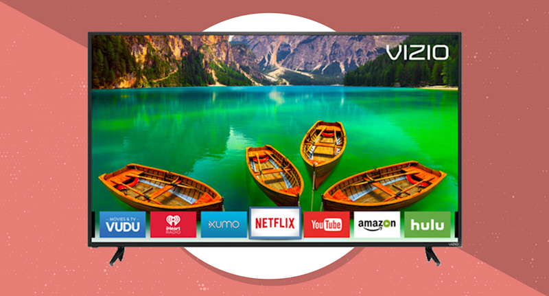 """A giant 4K screen is the best way to """"get outside"""" nowadays. (Photo: Vizio)"""