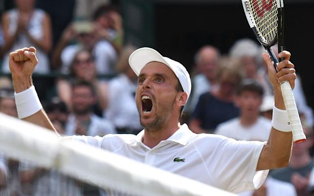 Bautista Agut defeated Guido Pella, 7-5, 6-4, 3-6, 6-3 to advance to the semi-finals - AFP