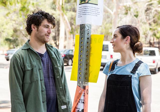 <p>It sounds hokey on the surface: A bickering married couple (Zoe Lister-Jones and Adam Pally) resolves their differences by forming a rock group with their weird next door neighbor (Fred Armisen). But <i>Band-Aid</i> is a fresh, funny and brutally honest spin on the rom-com. The music is surprisingly awesome, too. —<i>K.P.</i> (Photo: IFC)<br><br></p>