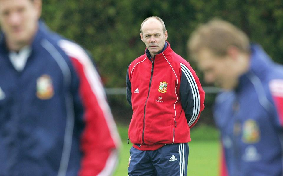 England's World Cup-winning coach Clive Woodward led the Lions in 2005 - AFP