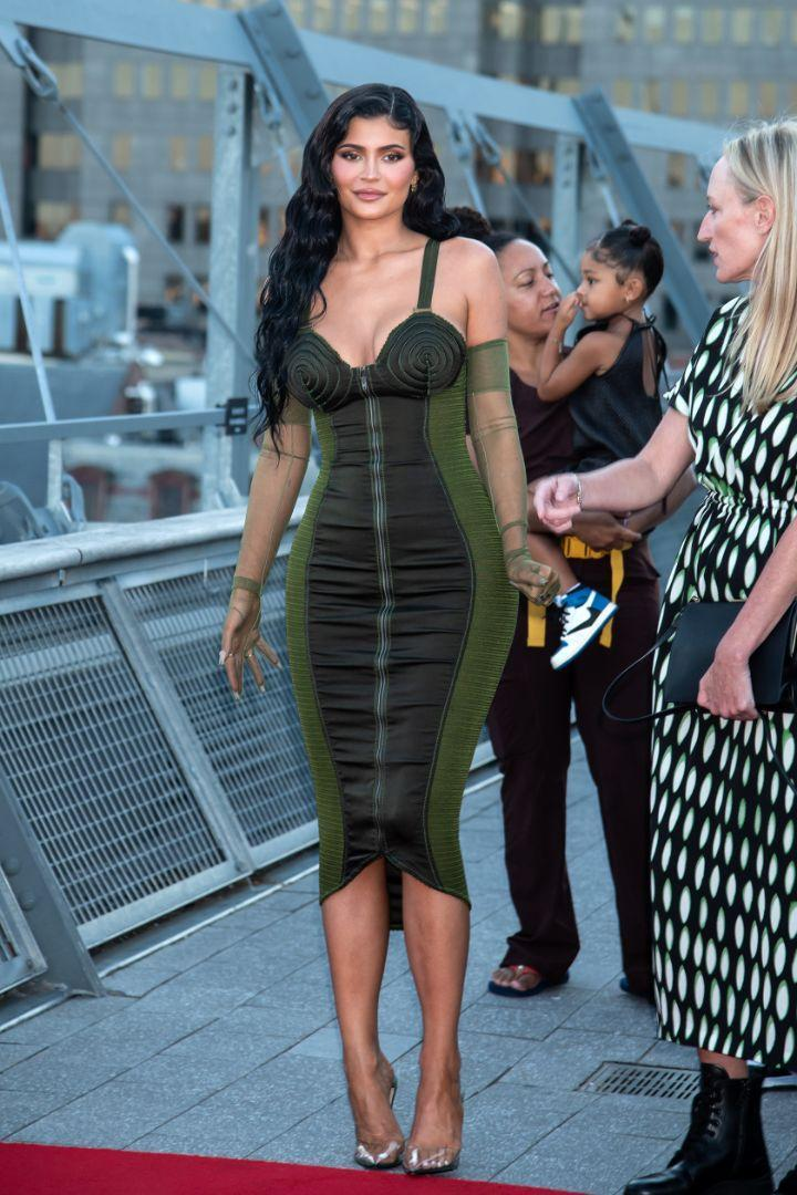 Kylie Jenner arrives at the red carpet for the 72nd Annual Parsons Benefit, New York, June 15. - Credit: RCF/MEGA
