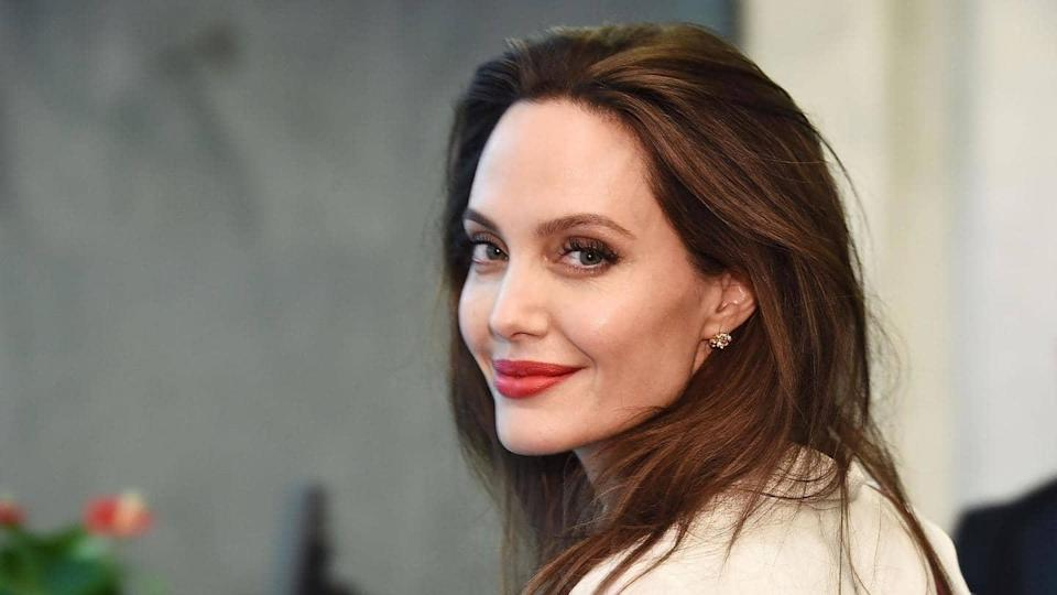 Angelina Jolie is loving the