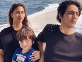 Gauri Khan shares a picture of her 'three little hearts' from Maldivian vacation