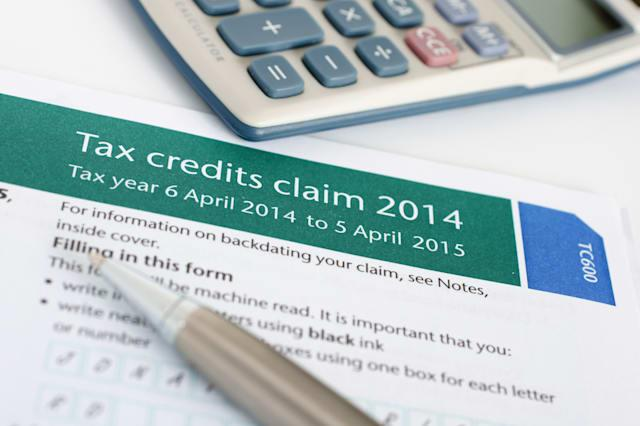 completing a british tax credit ...