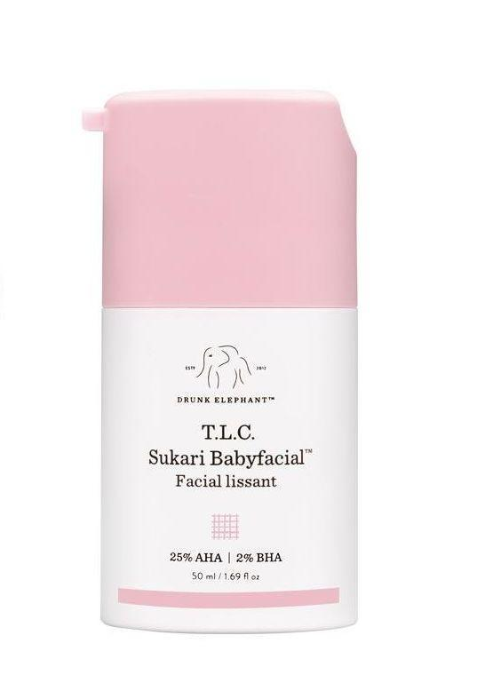 "Since being founded in 2014 by Tiffany Masterson, <a href=""https://www.drunkelephant.com/"" target=""_blank"">Drunk Elephant</a> has gained cult status in the beauty industry. The product offerings are a little on the pricier side, but the brand has a focus on clean ingredients that are suitable for all skin types. Right now, we're loving the <a href=""https://www.drunkelephant.com/collections/shop/products/t-l-c-sukari-babyfacial"" target=""_blank"">T.L.C. Sakuri Babyfacial</a>."