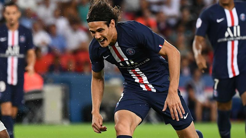 Worry for Tuchel as Edinson Cavani gets injured against Toulouse