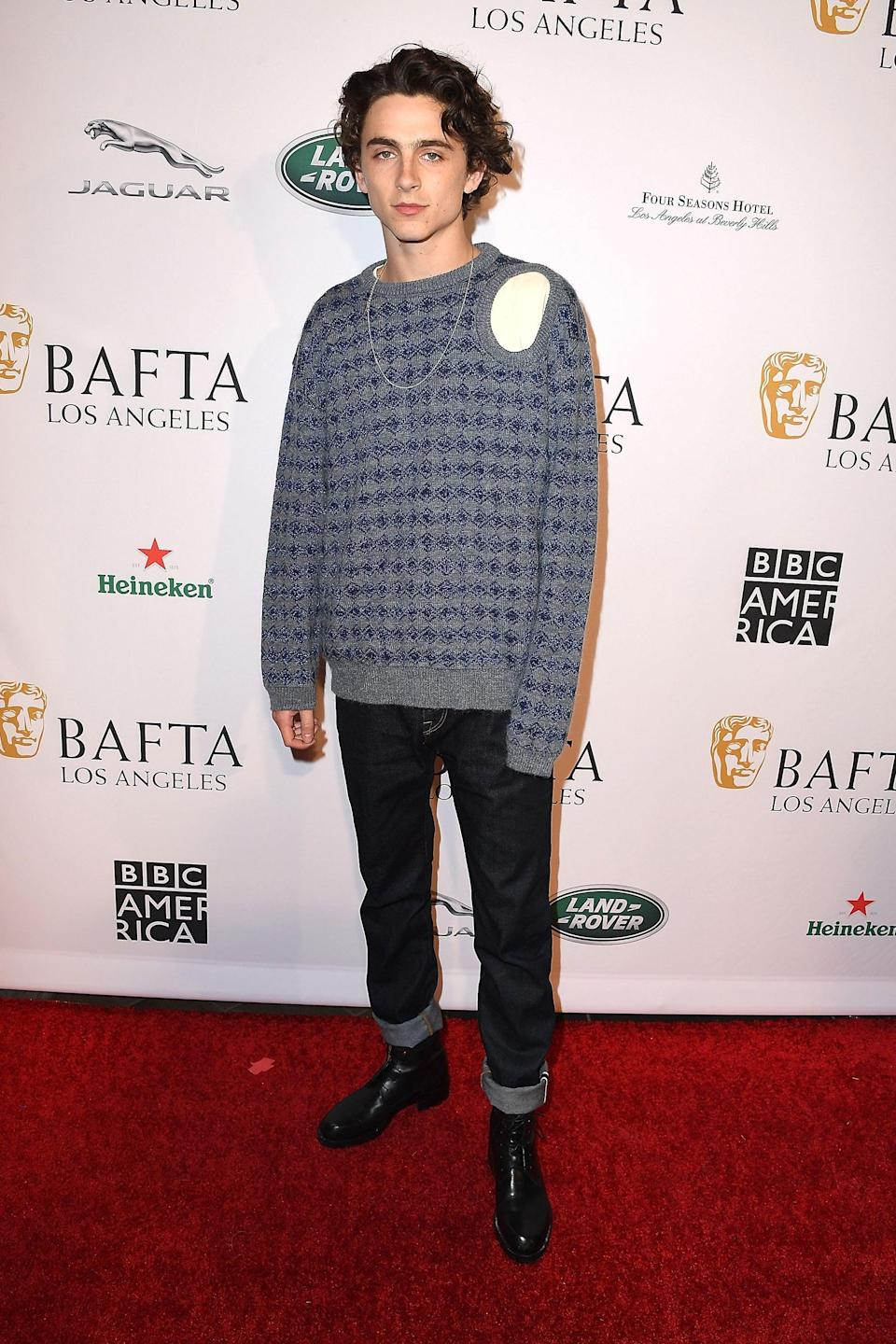 "<h2>Raf Simons</h2>BRB buying a cut-out sweater.<span class=""copyright""> Photo: Steve Granitz/WireImage.</span>"