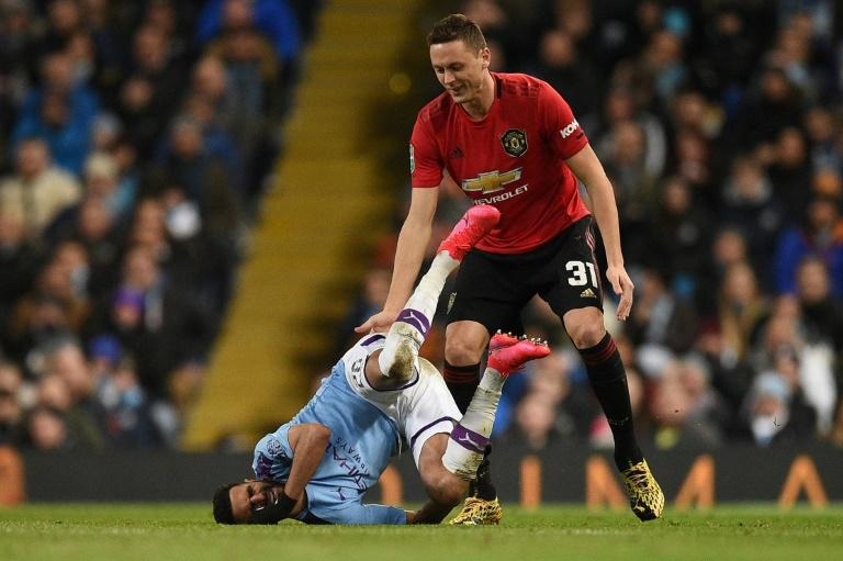 Mice and men: Manchester United's Serbian midfielder Nemanja Matic backs Djokovic