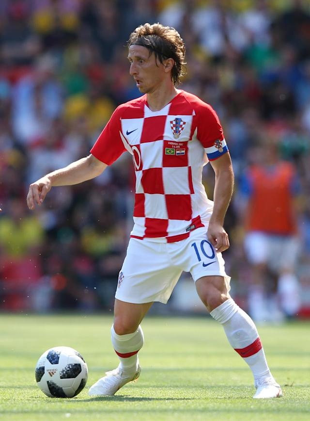 <p>Age: 32<br>Caps: 105<br>Position: Midfielder<br><br>The stylish Modric has a mountain of experience at tournament level – this is his sixth major finals, going back to the 2006 World Cup in Germany. </p>